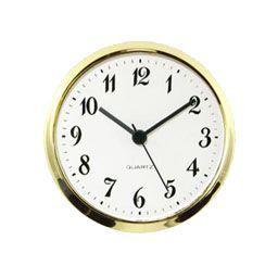 4 100mm standard quartz clock fit ups